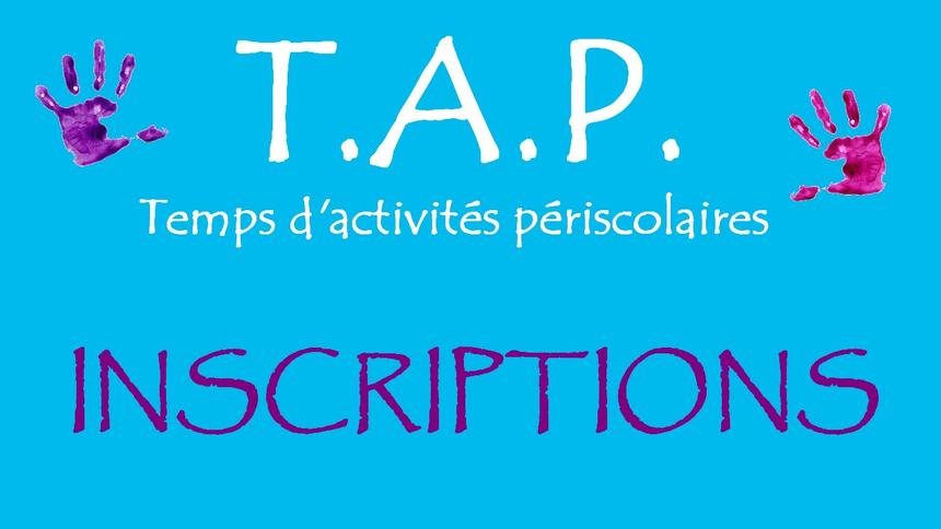 Inscriptions TAP 2018/2019
