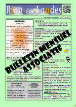 Bulletin mensuel associatif