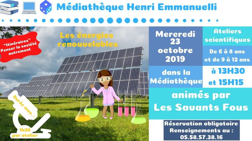 Ateliers scientifiques